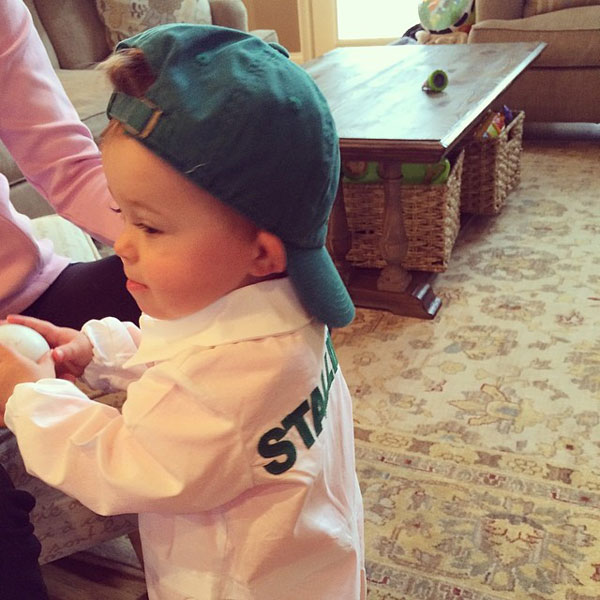 @stallingsgolf: 12 days and counting. I'll be ready, hope dad is too. #augusta