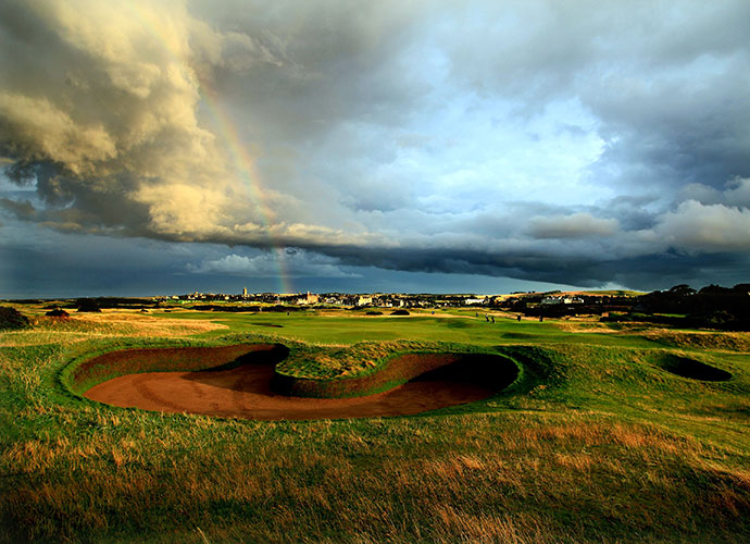 1. St. Andrews (Old Course), St. Andrews, Scotland: Ranked No. 4 in the world and home to 28 British Opens starting with the 1873 edition, earth's oldest course has witnessed legends from Old Tom Morris to Tiger Woods. Its flattish terrain is counterbalanced by its genius placement of bunkers and green contouring, making it an unforgettable test.