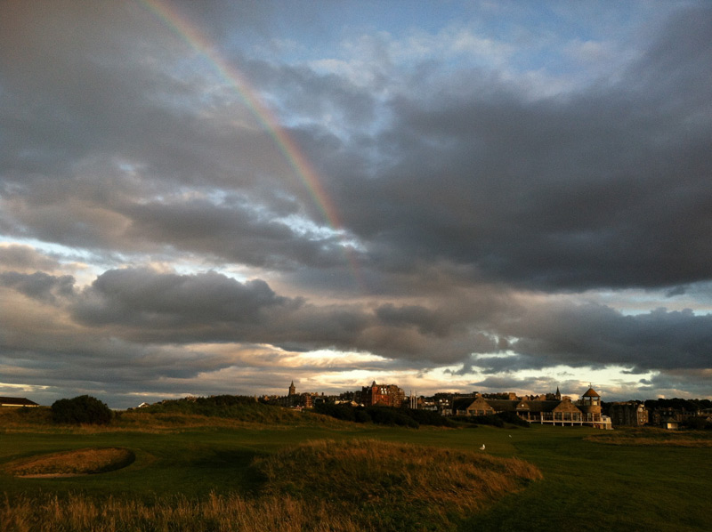 Each week, we all play golf courses around the world, from lush country club fairways to the patchy grass of a beloved muni. We want to see where you're playing. Send your pictures to editor@golf.com, and we just might include it in this gallery.                                                      The New Course, St Andrews Links -- St Andrews, Fife, Scotland                           Submitted by Ethan Flack