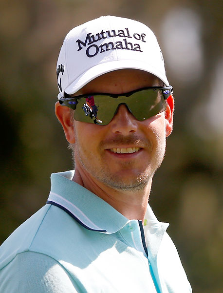 """It was probably the gator that needed to be worried, that I wasn't going to bite him.""                           --Henrik Stenson on whether he was worried about holding a baby alligator at his son's birthday party."