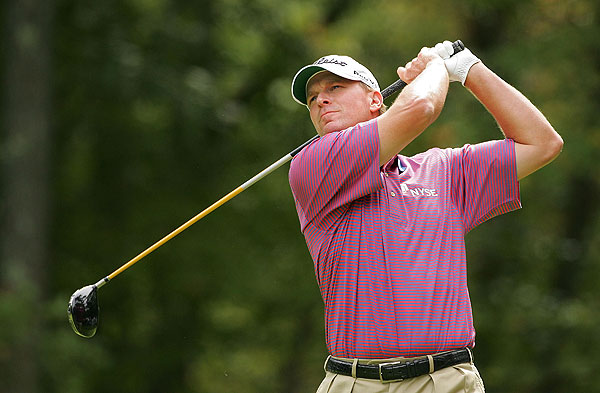 won the Deutsche Bank Championship on Monday, passing Tiger Woods in the FedEx Cup playoffs.