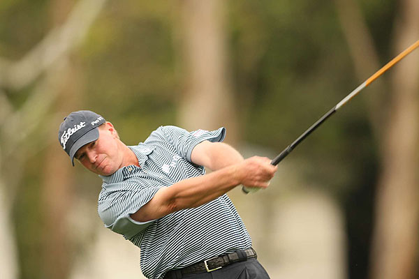 Steve Stricker finished one stroke behind Mickelson at 14 under par.