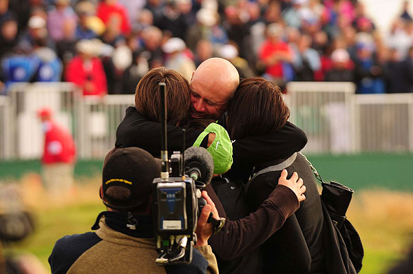 This is Cink's first win of the season and first major win ever.