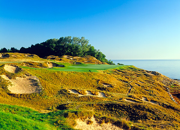 The par-4, 462-yard eighth hole is known as On the Rocks.