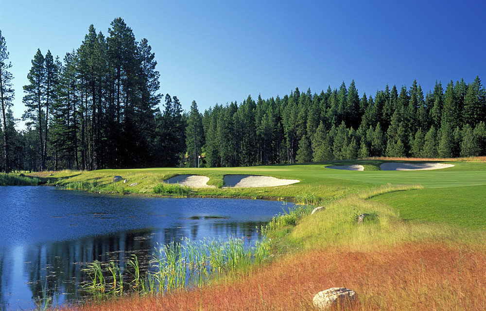 BEST NEW COURSE OF THE YEAR                       Suncadia Resort (Rope Rider)                       Cle Elum, Wash.