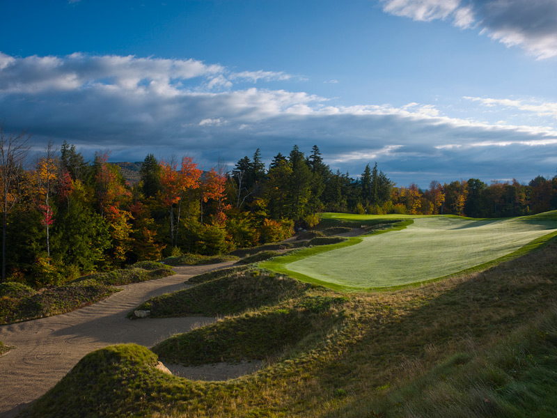 Here is a sampling of the best courses you can play in the Northeast. A complete Northeast list, plus the best courses in every state, is here.Sunday River Golf ClubNewry, Maine -- $65-$120, sundayriver.com