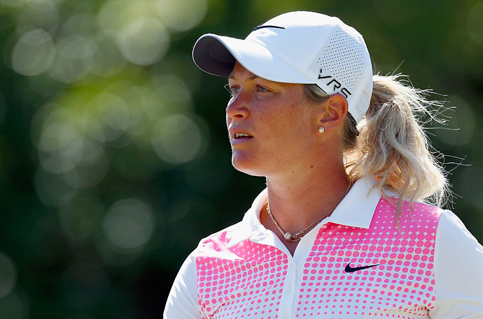 """I don't think he's going to play the U.S. Open. I don't think he's hitting golf balls at this point.""                           --Suzann Pettersen on her golf buddy Tiger Woods."