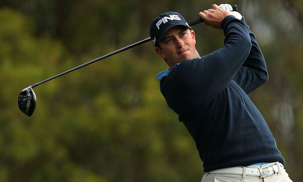 Michael Thompson shot four-under 66 to take the early lead.