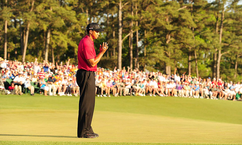 Woods made his much-anticipated return to golf at the 2010 Masters. He stayed in contention until Sunday, eventually finishing tied for fourth, five strokes behind longtime rival Phil Mickelson, who secured his third green jacket.