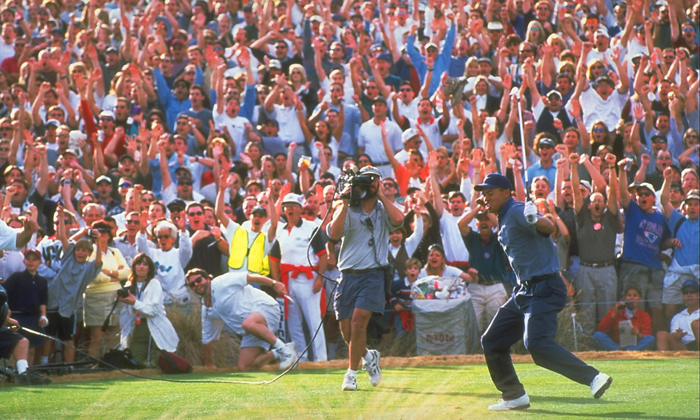 At the 1997 Phoenix Open, Woods electrified the rowdy Phoenix Open crowd with a hole-in-one on No. 16.