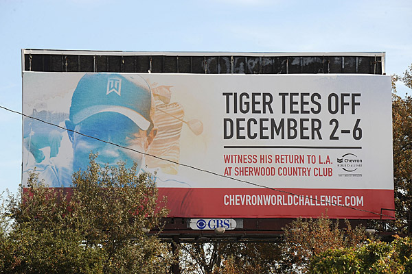 Nov. 30 - Woods withdraws from his tournament, the Chevron World Challenge, in Thousand Oaks, Calif.