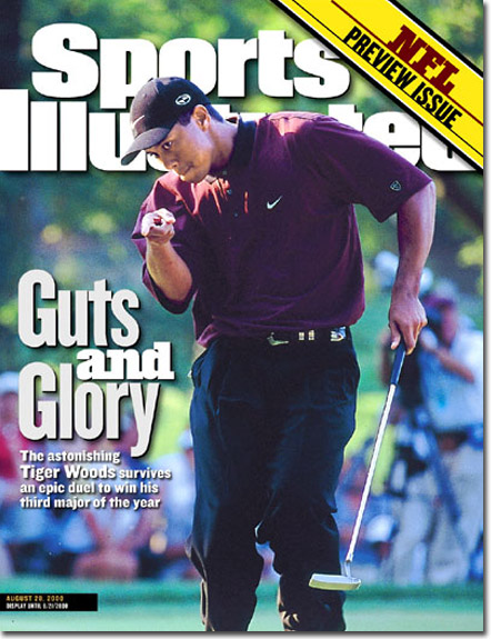 Woods won his third major of 2000 en route to the Tiger Slam when he won a dramatic three hole playoff over Bob May at Valhalla. Read Article