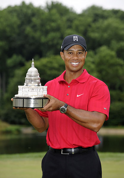 Sal's Stats                       2009 AT&T National                       By Sal Johnson                       Tiger Woods now has 68 career victories. He's five wins away from Jack Nicklaus's career total, and 14 away from Sam Sneed's leading total of 82. The difference? Woods won his 68th at age 33; Snead's came at the 1953 Baton Rouge Open at age 40 and Nicklaus got his at the 1978 IVB Philadelphia Classic at age 38.