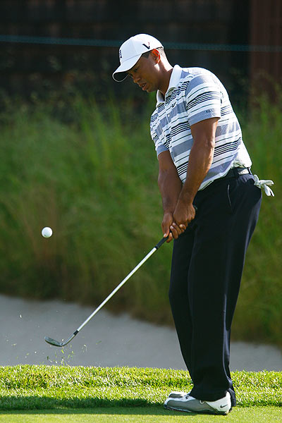 Woods also visited the course last week for a practice round.