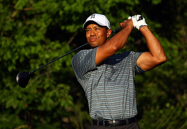 Practice Rounds at TPC Sawgrass: Tuesday                           Following his fourth place finish at Quail Hollow, Tiger Woods arrived Tuesday for a practice round at TPC Sawgrass.