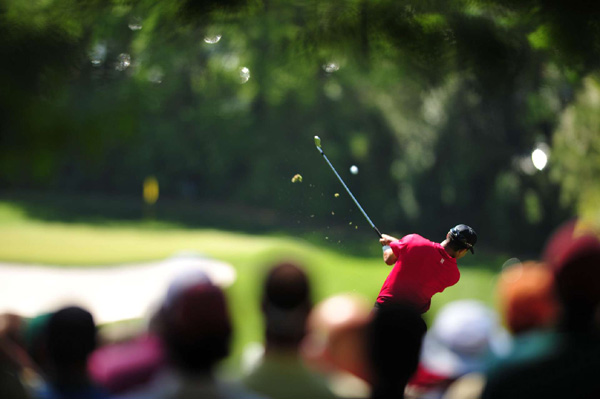Woods recorded his 11th top-10 finish at the Masters.