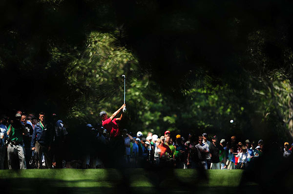 """I fought my swing all day and just kind of Band-Aided around and almost won the tournament with a Band-Aid swing today,"" Woods said after the tournament."