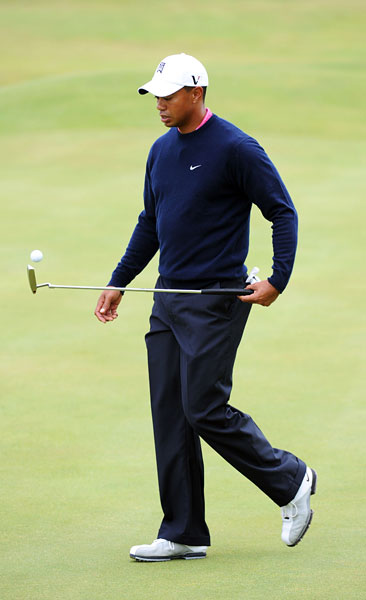 Woods has three victories so far this season but has not won a major.
