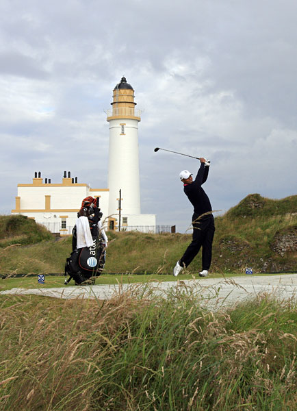This year at Turnberry, Woods will be trying for his fourth British Open title after wins in 2000, 2005, and 2006.