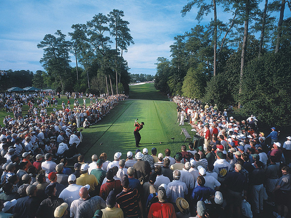 No. 6: 2001 Masters                       With two of his main rivals in hot pursuit, Tiger Woods won the 2001 Masters to complete the Tiger Slam. He beat David Duval by two shots and Phil Mickelson by three.