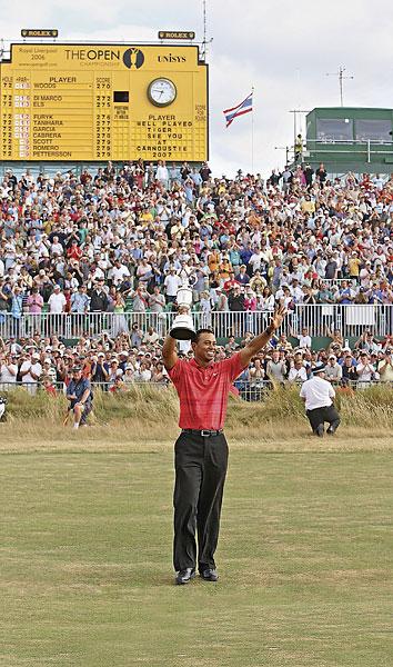 Tiger Woods, 2006, Royal Liverpool at Hoylake