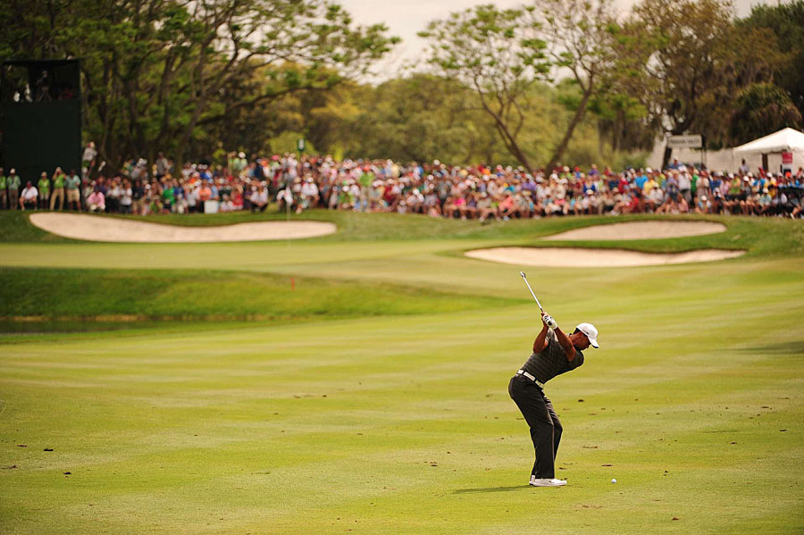 Woods is seeking his seventh title at Bay Hill, and his 72nd career win on the PGA Tour.