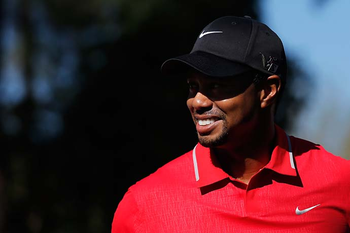 """I'm now hanging up the clubs for a little bit, so it's going to be nice.""--Tiger Woods after playing his first tournament in a month."