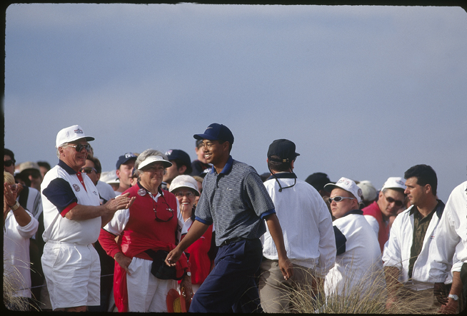 More than 120,000 fans were at TPC Scottsdale that day.