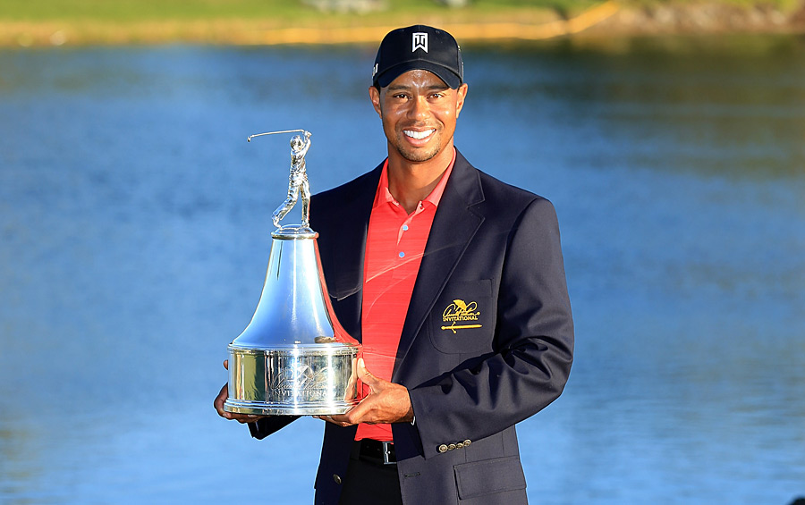 Navy blazers are also awarded at Bay Hill. Tiger Woods added another one to his closet in 2012.