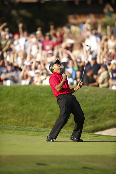Woods won his third U.S. Open title in 2008 at Torrey Pines.
