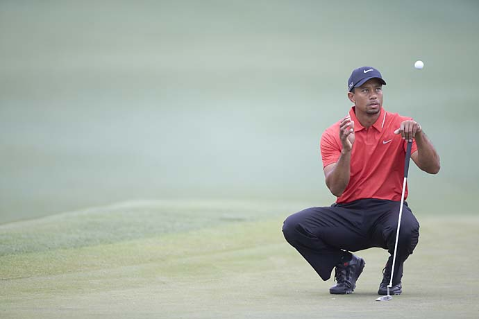 Tiger Woods: B                       Cameron Morfit says:He wasn't at his best, but kudos to Tiger for giving himself a chance after his possible 4 turned into an 8 on the 15th hole of Friday's second round. Woods needs another T4 finish like he needs a wake-up call to see Fred Ridley about an improper drop, but the good news is he had ample reasons to shoot his way out of this on the weekend, and he didn't. No matter what you thought of his drop, that should count for something.