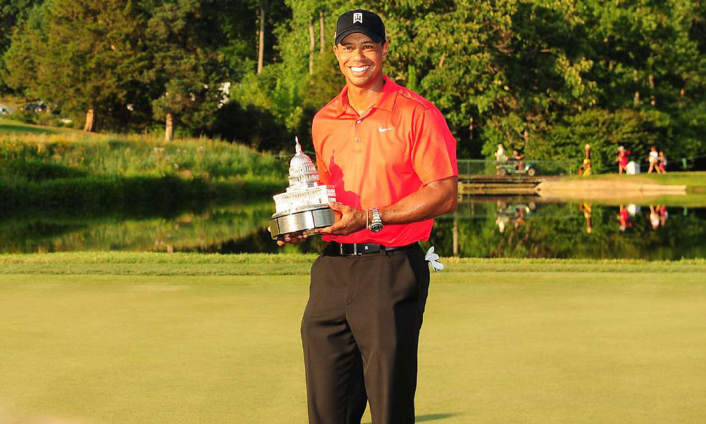 2. Tiger Woods (December 30, 1975 - )                       79 PGA Tour wins