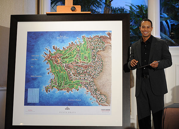 Tiger Woods announces next course-design project                       Tiger Woods Design is building an 18-hole private course near the Mexican resort town of Ensenada, about 65 miles south of San Diego. Here are some views from the property.