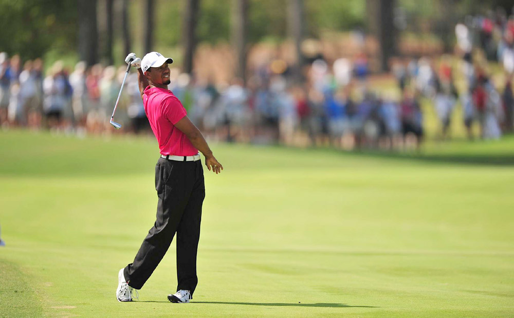 Tiger Woods, PGA Championship: After missing the U.S. Open and British Open due to injuries, Woods made his much-anticipated return to major championship golf at Atlanta Athletic Club. He looked lost, shooting 77-73 with five double bogeys over two days, and he missed the cut at a major for just the fourth time in his career.