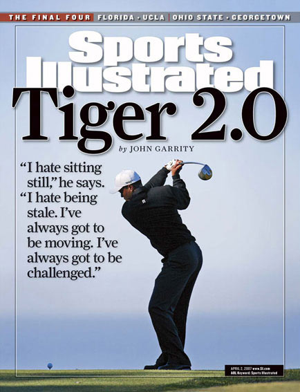 April 2, 2007                       SI's John Garrity goes behind the scenes with Tiger.                                               Read the story.