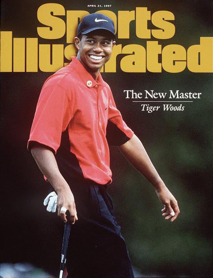 April 21, 1997                           Woods wins the Masters by 12 strokes.                                                       Read the story.