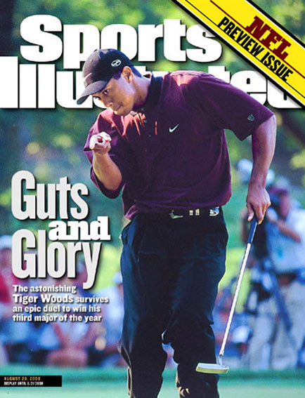 August 28, 2000                       Woods wins the PGA Championship for his third major of the season.                                               Read the story.