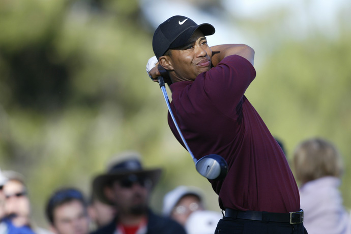 Woods captured his first Match Play title in 2003, defeating David Toms, 2 and 1, in the 36-hole final.