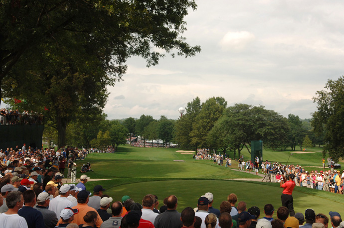 Woods once again defended his title at the 2006 Bridgestone Invitational at Firestone.