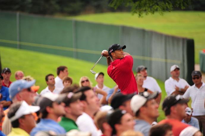 Woods won his seventh title at Firestone at the 2009 Bridgestone Invitational.