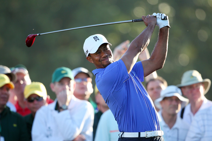 Woods has not won at Augusta since 2005.