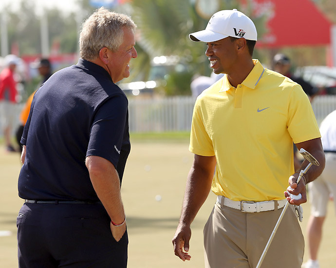 Woods no doubt has high expectations for 2013 and will try to capture his 15th major title.