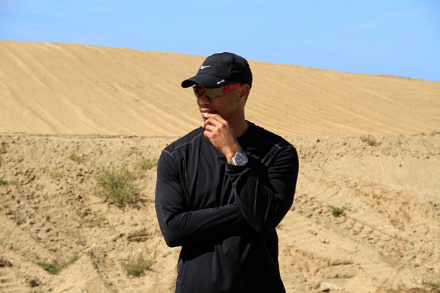After he lost his opening match at the Match Play Championship, Tiger Woods flew to Cabo San Lucas, Mexico, on February 22 to check on the progress of his first golf course, El Cardonal at Diamante.More information at diamantecabosanlucas.com