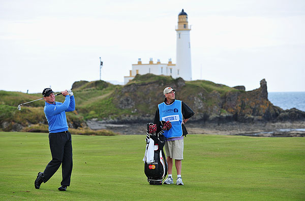 Tom Watson won the Open Championship at Turnberry in 1977.