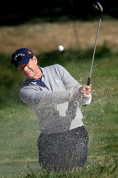 proved last year's near-win at the British Open was not a fluke by playing well at this year's Masters. He looks to shock the world again this week at the site of his only U.S. Open win.