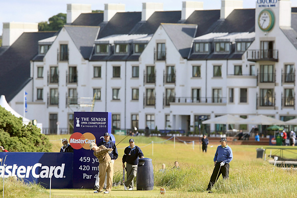 , one week after missing the cut at the British Open at St. Andrews, hopes to fare better this week at the Senior Open held at historic Carnoustie.