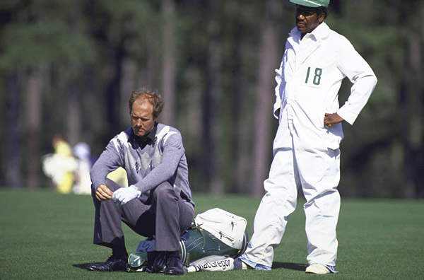 Tom Weiskopf, 13, 1980 Masters, par-3 12th hole, Augusta National                           Tom Weiskopf's place in Masters history is secure with his four runner-up finishes (1969, 1972, 1974, and the epic showdown with Jack Nicklaus and Johnny Miller in 1975). But he also holds a more ignominious honor: the highest score ever recorded on the famous par-3 12th: 13. It happened in the first round of the 1980 Masters. According to Augusta.com, Weiskopf's 7-iron off the tee spun back in to Rae's Creek. Then from the drop area, he dunked four more. With his 11th shot, he reached the back of the green. At least he didn't three-putt.
