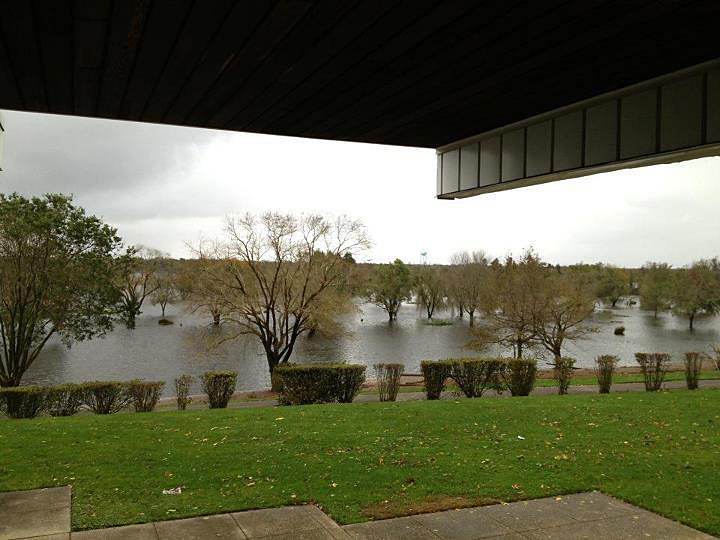 "Toms River Country Club in Toms River, N.J.: ""@GOPfashionista: The Toms River flooding the golf course at Toms River Country Club #Sandy"""