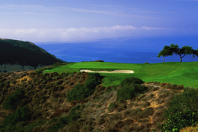 "10. Torrey Pines Golf Course -- San Diego, Calif.                           Casper says: ""Another one on the Pacific Ocean with incredible surroundings, where you look out over the high cliffs onto the beach and ocean below. It's a course with predominantly westerly or north westerly wind, which makes it play difficult. So many wonderful holes that require two good shots. It's a great U.S. Open test."""