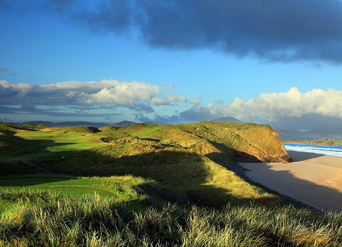 "Tralee, Ardfort, Co. Kerry: ""I have never seen a more perfect place to build a golf course,"" said Arnold Palmer of Tralee, his first design foray into Europe in 1984. ""I may have designed the first nine, but god designed the back nine."" Regardless of whom takes design credit, the course dishes out broken ground and heavenly vistas in equal measure. ($76-$242; 011 353 66 713 6379,"